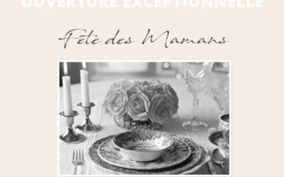 DIMANCHE 30 MAI : FÊTE DES MAMANS